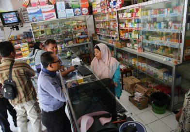 Waspada Pil PCC, Polres dan Dinas Kesehatan Sukoharjo Sidak Apotek