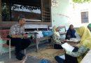 Bhabinkamtibmas Polsek Gatak Sukoharjo hadir dalam Kegiatan Posyandu