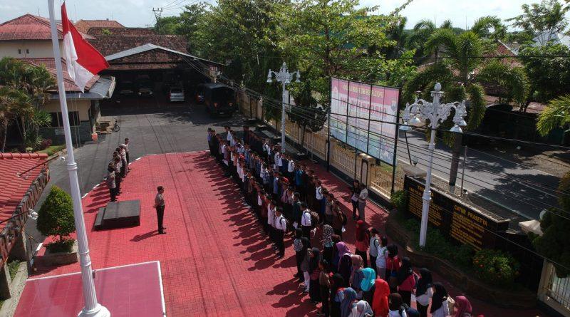 Polres Sukoharjo Seleksi 110 Pendaftar Binlat Kloter Pertama