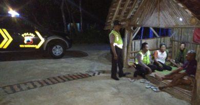 Poskamling di Kedungsono jadi Sasaran Polisi Bulu