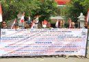 Warga Parangjoro, Demo Tuntut Pabrik Cat dan Bangunan Gudang Sparpart